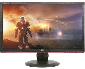 "AOC AGON 27"" 1ms 144Hz Full HD FreeSync Gaming Monitor w/HAS - HDMI/DP/DVI/VGA,Hub/Charge,VESA100mm,Height Adjust"