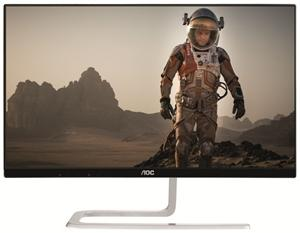 "AOC 23.8"" IPS 5ms Full HD UltraSlim Fashion Monitor - VGA/2HDMI,FlickerFree,UltraSlim (LS)"