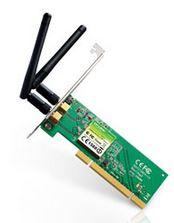 TP-Link TL-WN851ND N300 Wireless N PCI Adapter 2.4GHz (300Mbps) 802.11bgn 2x2dBi Omni Directional Antennas MIMO QSS
