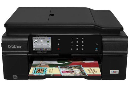 EOL Brother J650DWWireless Inkjet WIFI/Duplex/Fax/ADF/Touch LCD