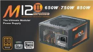 Seasonic M12II750W 80+ PSU Bronze, Modular, 7yr Warranty (LS)