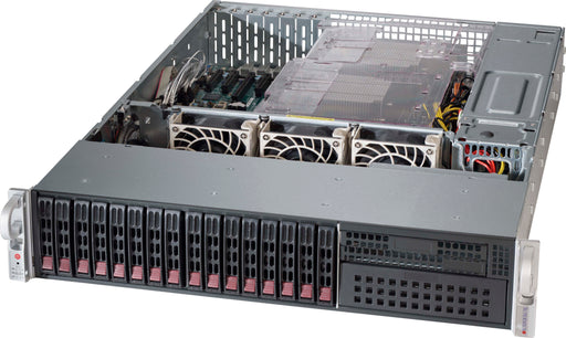 "Supermicro 2U 16x 2.5"" Server Chassis with SAS3 12GBs Expander & 920W Redundant PSU"