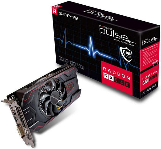Sapphire AMD PULSE RX 560 4GB Gaming Video Card - GDDR5 DP/HDMI/DVI AMD Eyefinity 1300MHz (LS)