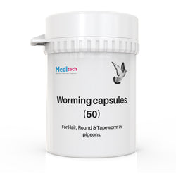 Worming caps 50 Birds