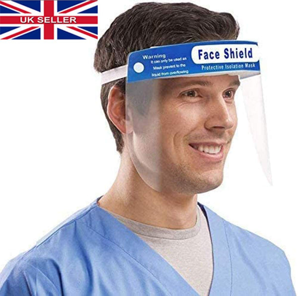 Full Face Visor, Safety Visor for Eye and Face Protection NOW IN STOCK!