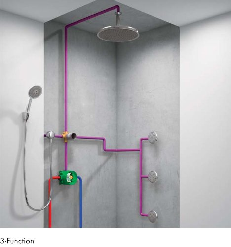 Hansgrohe 01850181 iBox Universal Plus Rough with Service Stops, 3/4 ...