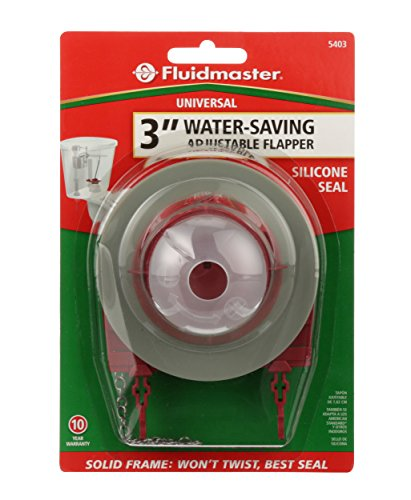 Fluidmaster 5403 3 Inch Universal Water Saving Long Life Toilet Flapper