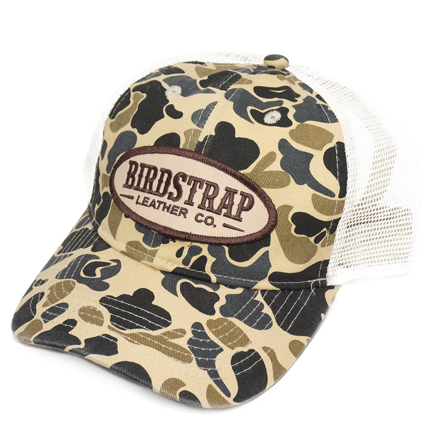 Old School Camo Hat