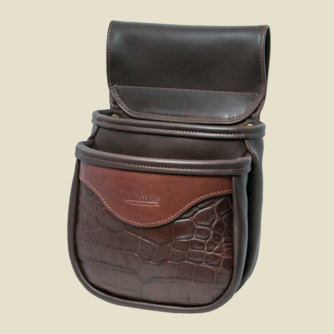 Alligator Shell Bag - Double