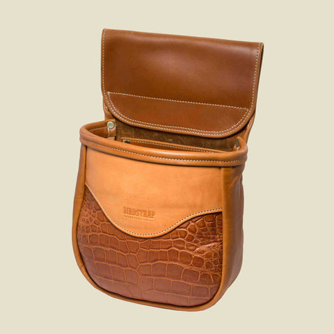 Alligator Shell Bag - Single