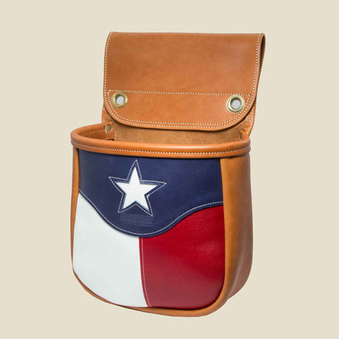 Texas Flag Shell Bag
