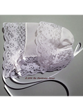 Glorious Lace Baby Handkerchief Bonnet