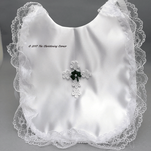 Girls Irish Baptismal Bib