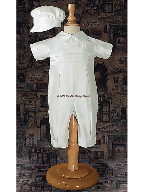 Boys Silk Christening Outfit