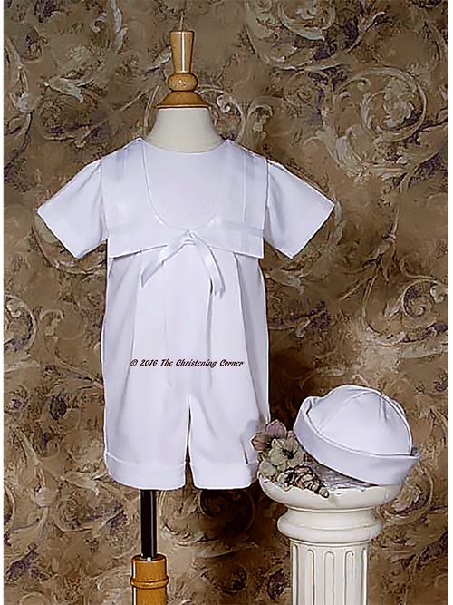 Nautical Irish Christening Outfit for boy or girl