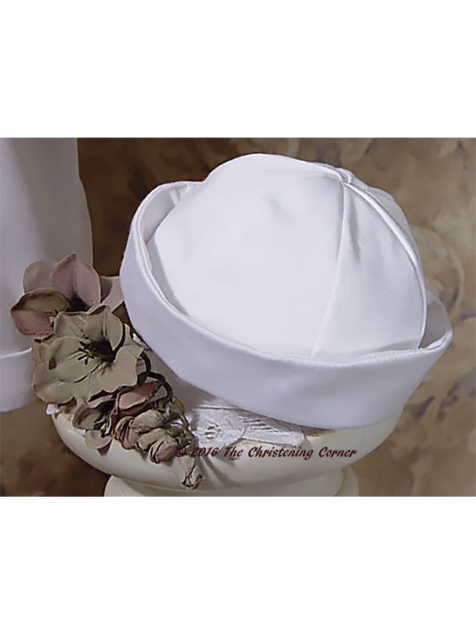 Nautical Irish Christening Outfit for boy or girl - sailor hat