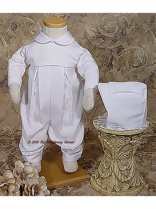 Pleated Irish Christening Outfit
