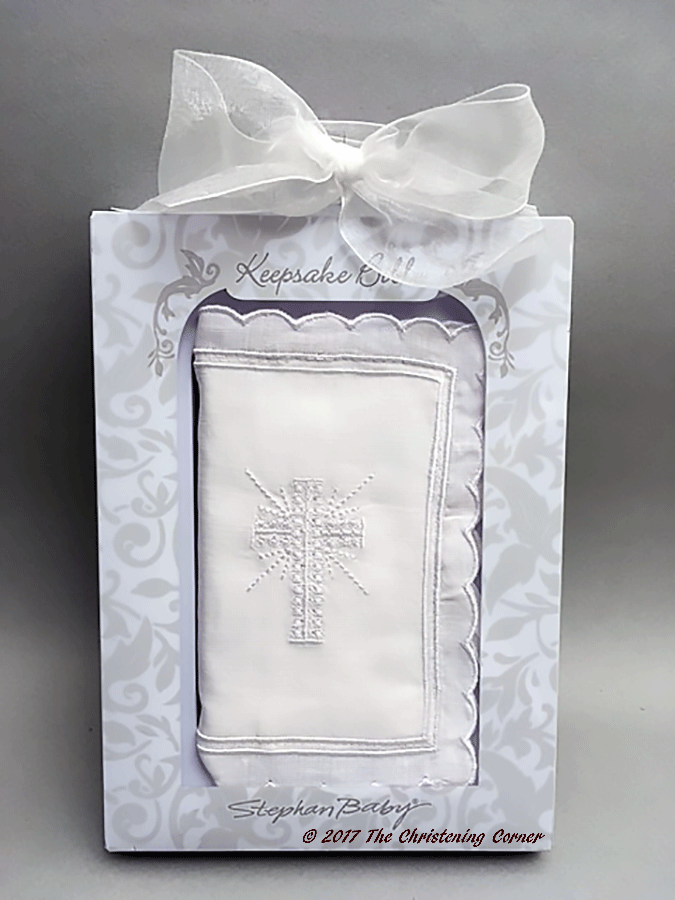 Babys First Keepsake Bible - Girl - gift box