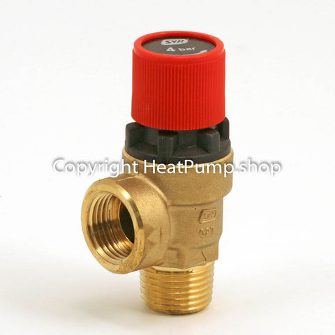 Ground Loop Pressure Relief Valve 4 bar