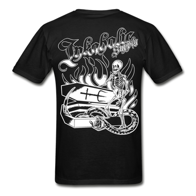 Inkaholic Supply | Coffin Graphic Tee - black