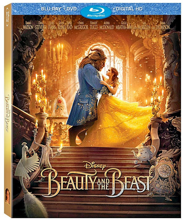 Disney Beauty and the Beast Bluray Combo Pack