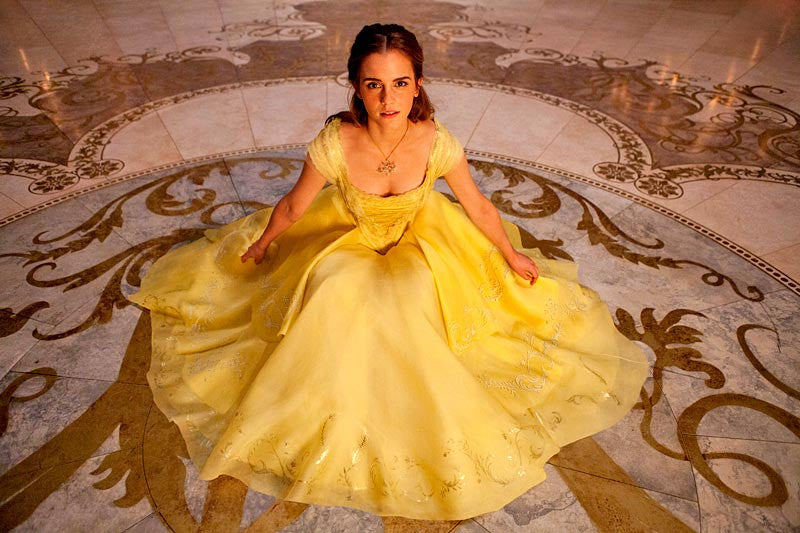 Emma Watson as Princess Belle in Disney's Beauty and the Beast