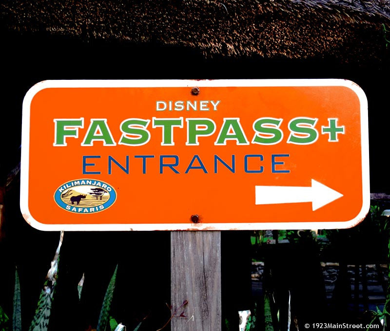 Kilimanjaro Fastpass + Entrance, Disney's Animal Kingdom Park