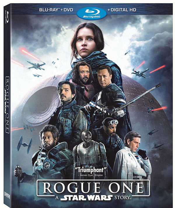 Rogue One: A Star Wars Story, DVD Bluray Combo Pack