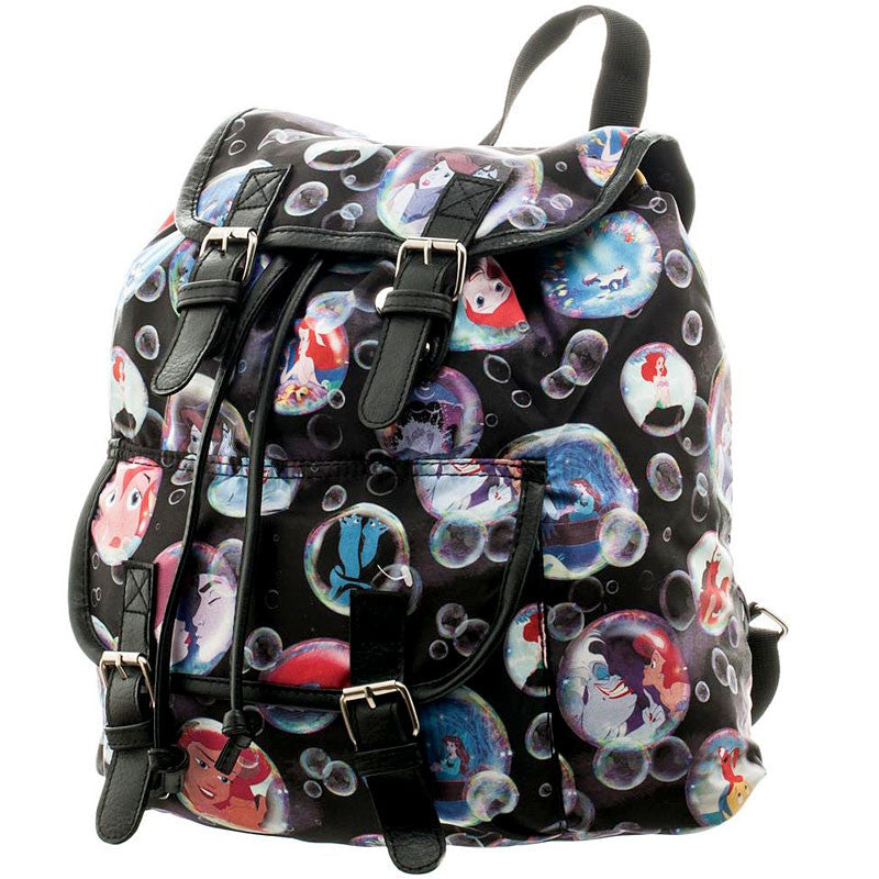 Disney Little Mermaid knapsack featuring Ariel and Ursula
