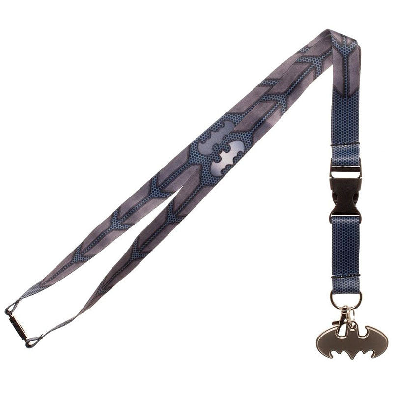 Batman Lanyard with Cutout Batman Logo Charm