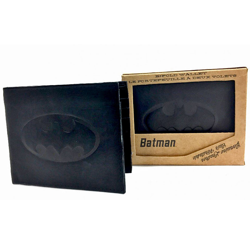 Batman Leather Wallet (packaging)