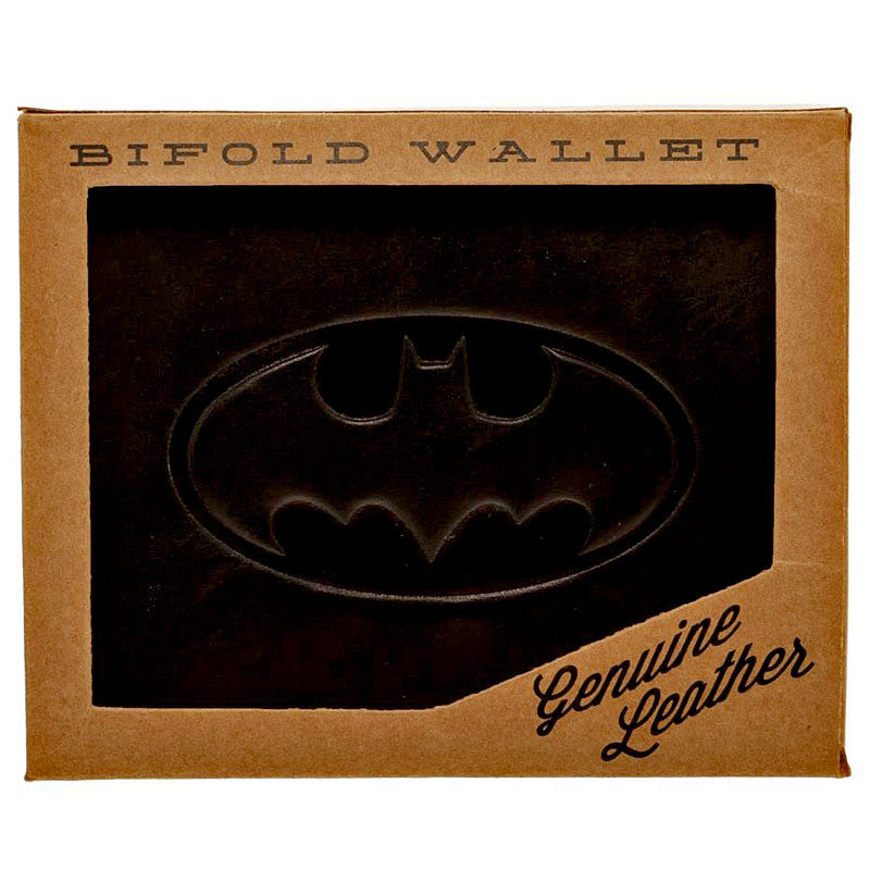 Batman Leather Wallet in Gift Box