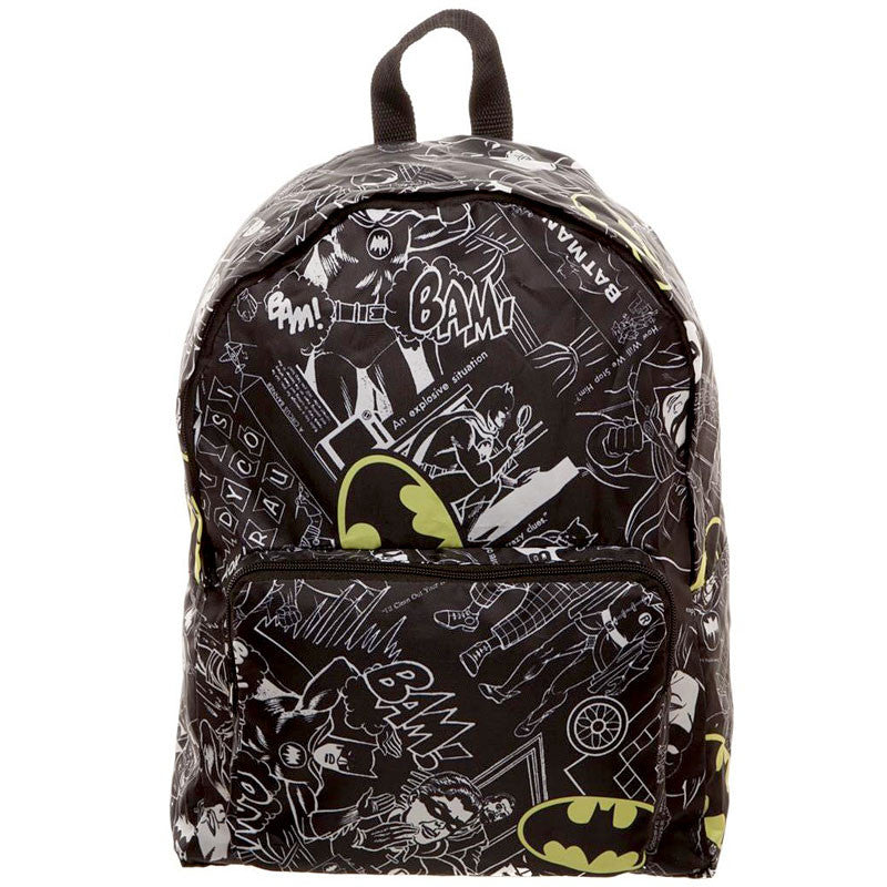 Batman Backpack - Packable Soft Pack