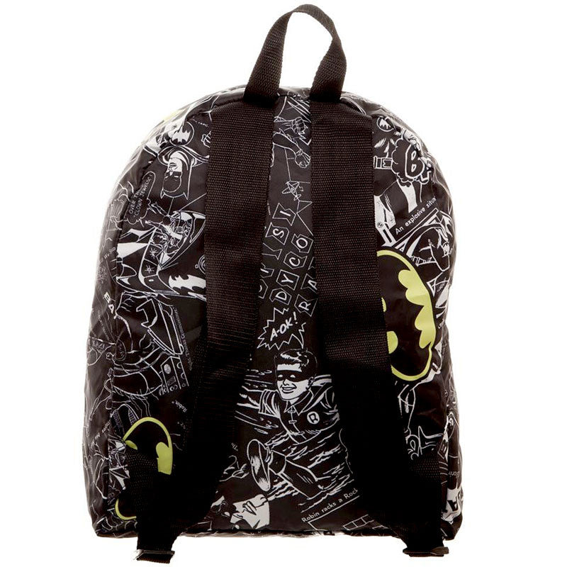 Batman Soft Packable Backpack - Back View