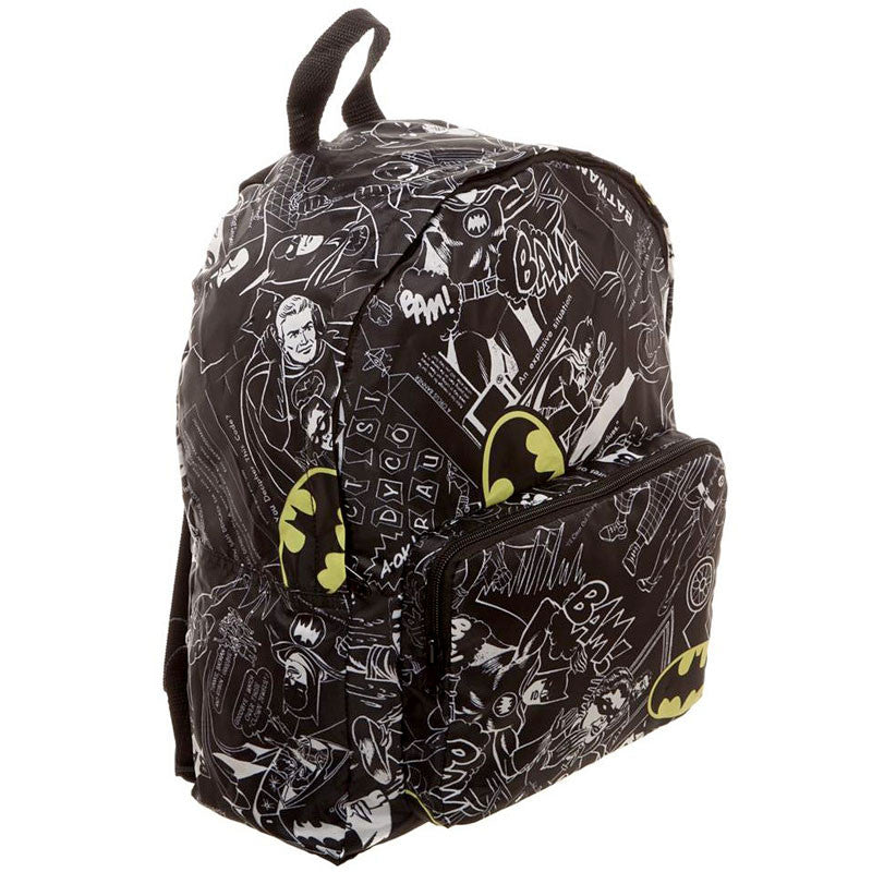 Batman Backpack - Packable Soft BackPack