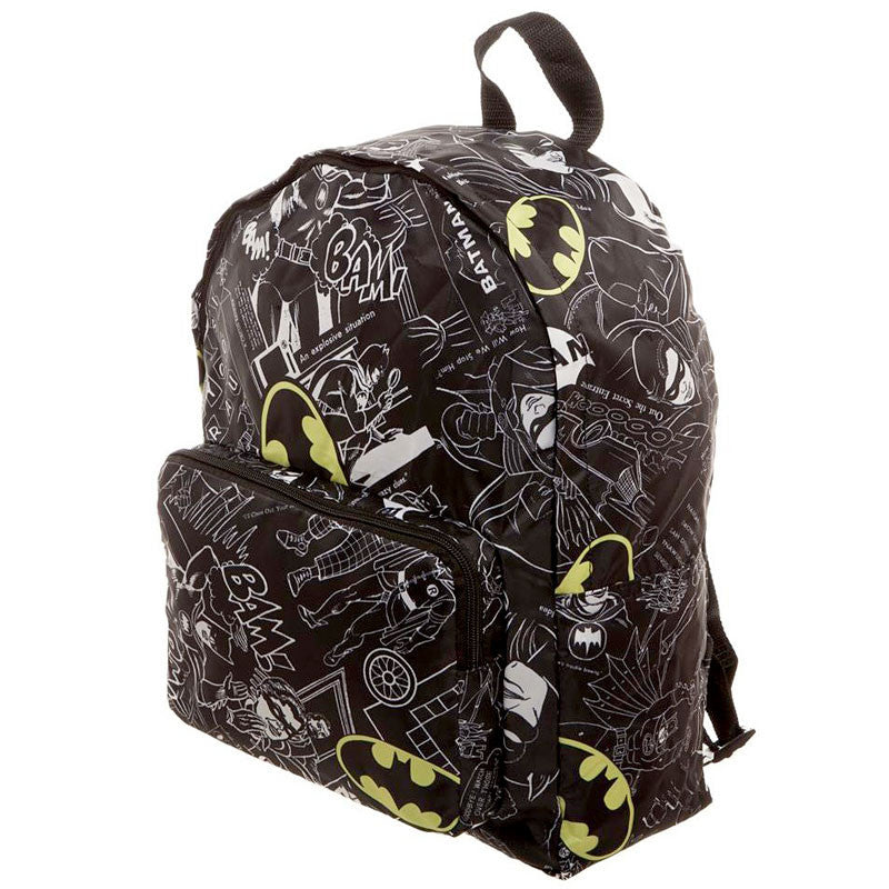 Batman Backpack - Packable Soft Pack - Side View