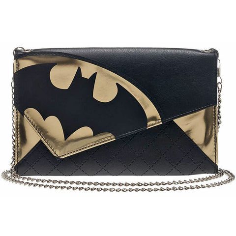 Batman Women's Wallet with Shoulder Chain