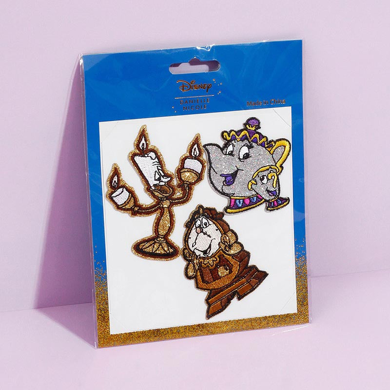 Disney Danielle Nicole Beauty and the Beast Stickers