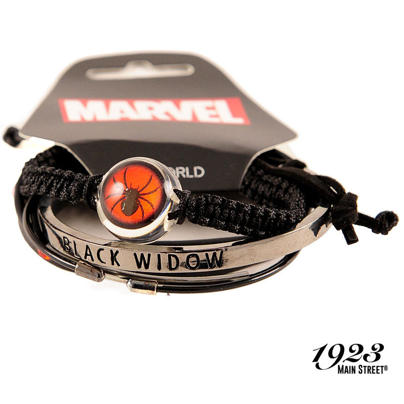 Marvel Black Widow Arm Party Bracelets, Set of 5