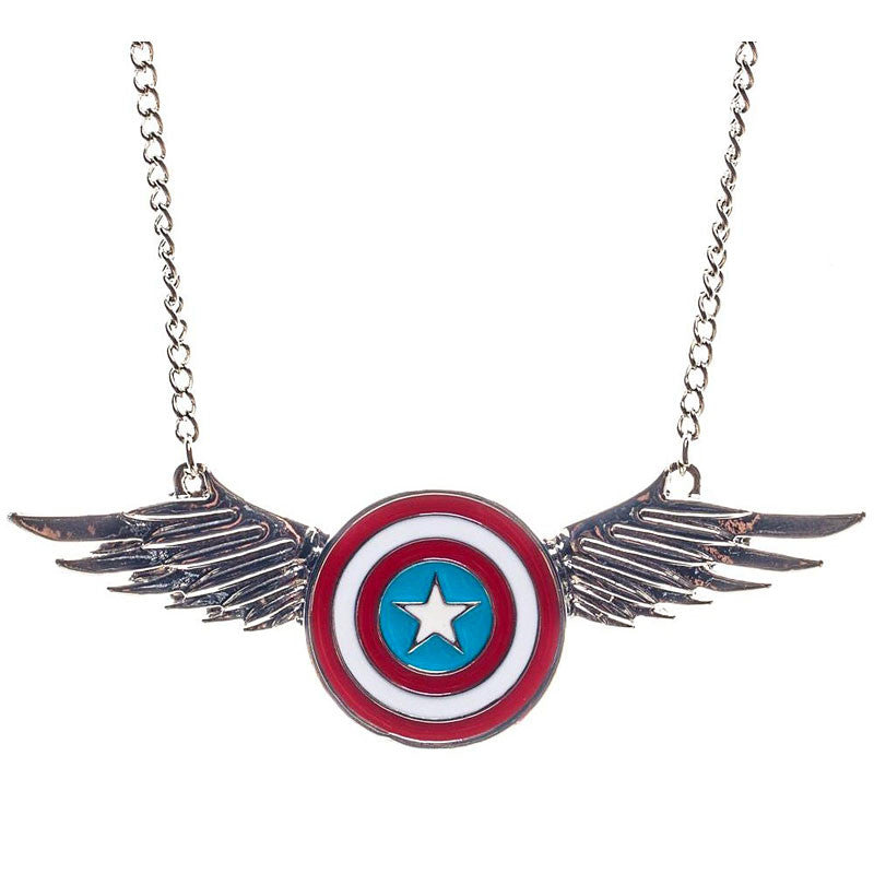 Marvel Captain America Necklace