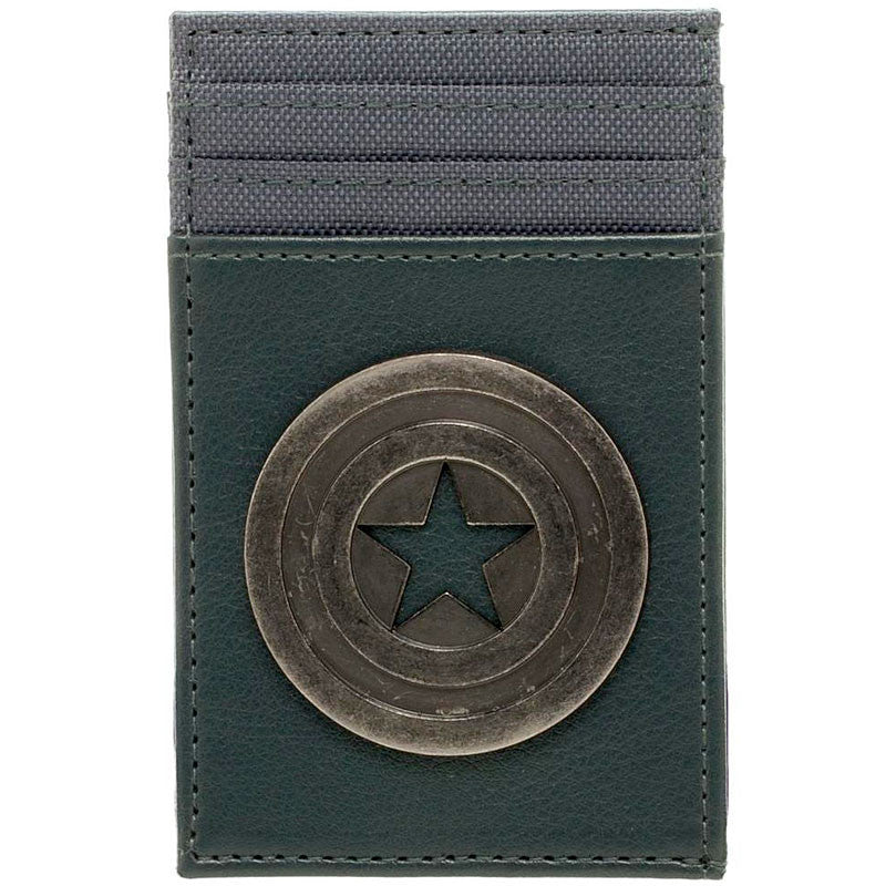 Captain America Front Pocket Wallet