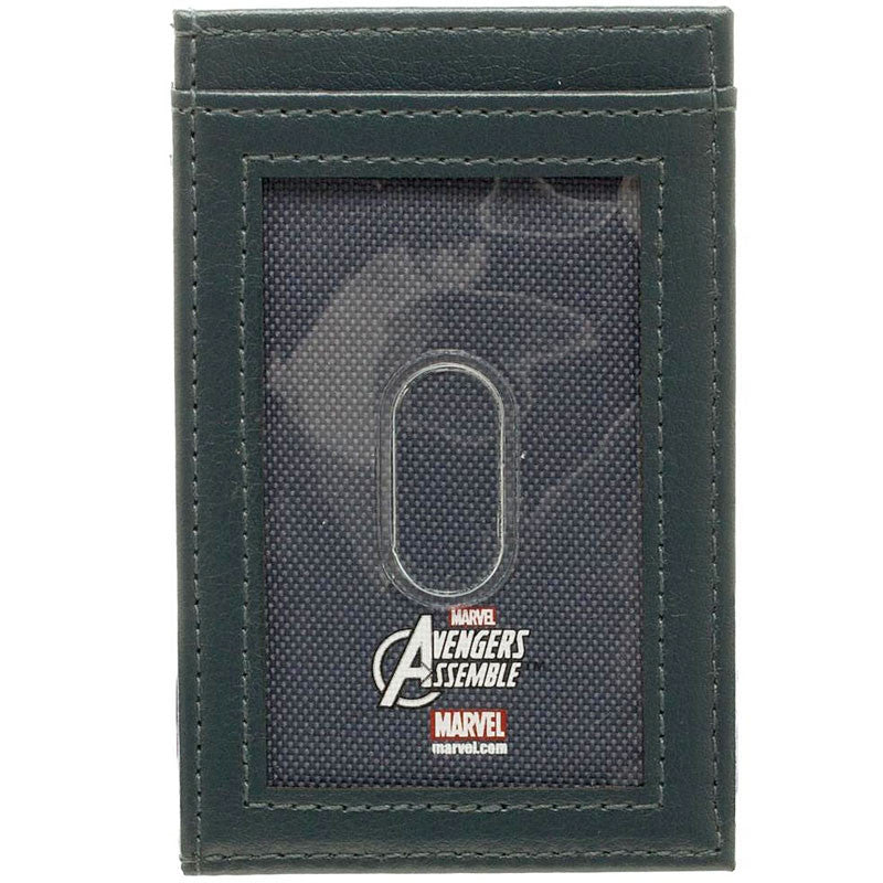 Captain America Front Pocket Wallet, backside