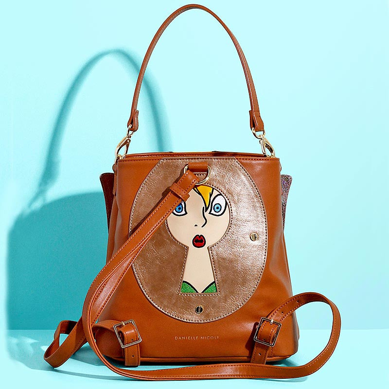 Disney Tinkerbell Backpack, Doubles as a Handbag
