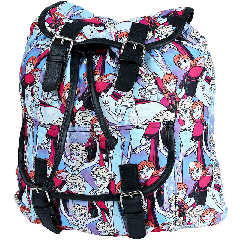 Disney Frozen Knapsack with Drawstring and Buckle