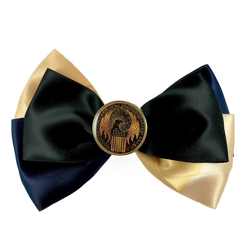 Harry Potter Fantastic Beasts Crest Hair Bow