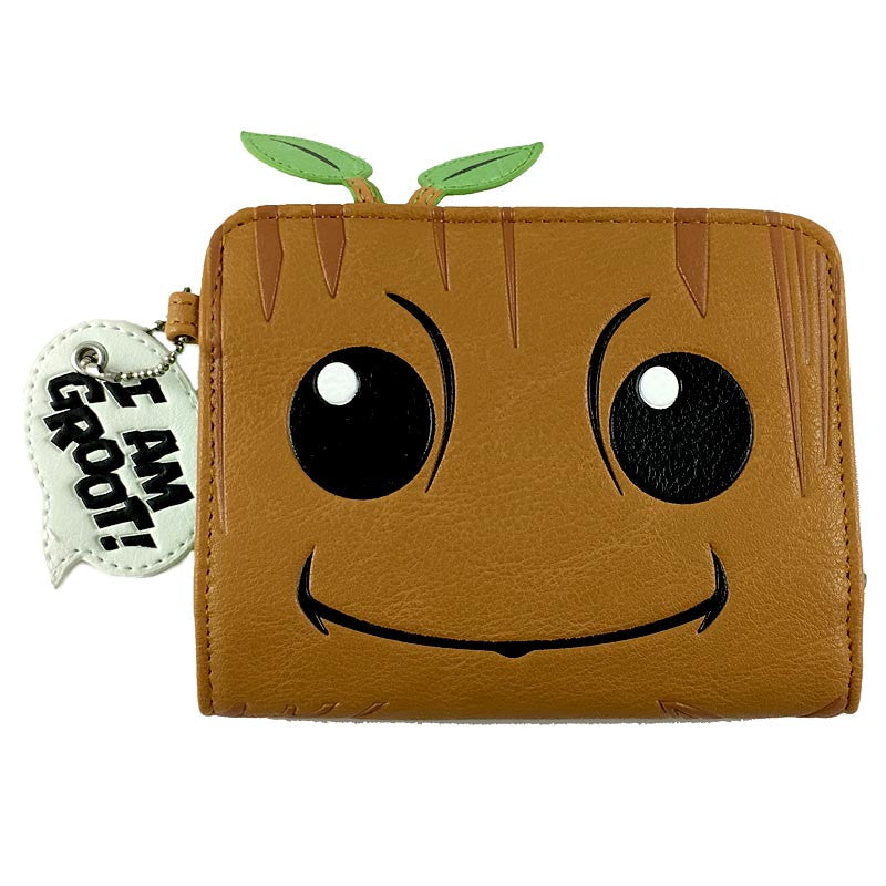 Guardians of the Galaxy Wallet - Baby Groot Zip Wallet