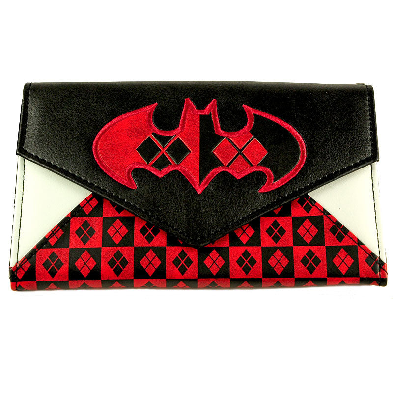 Harley Quinn Envelope Wallet - Bioworld