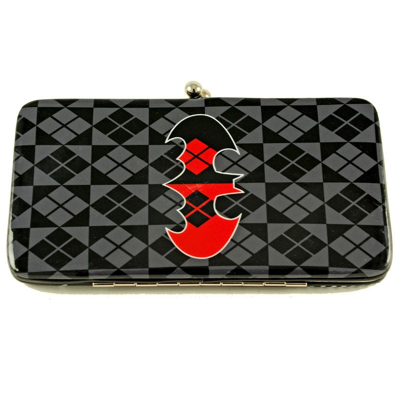 Harley Quinn Hinged Wallet - Back