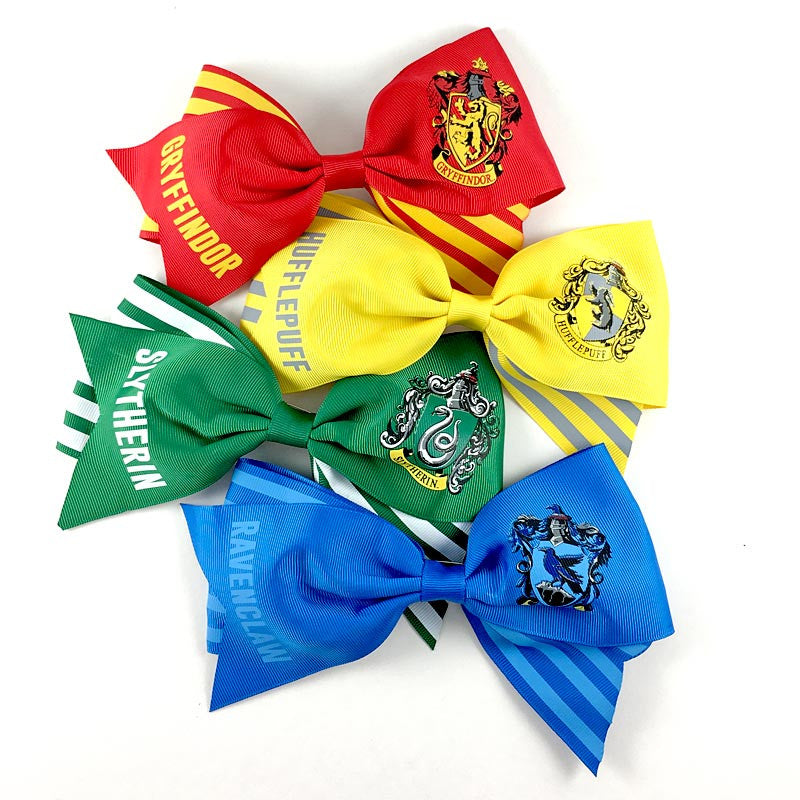 Harry Potter Hogwarts Houses Cheer Bows (Set of Four)