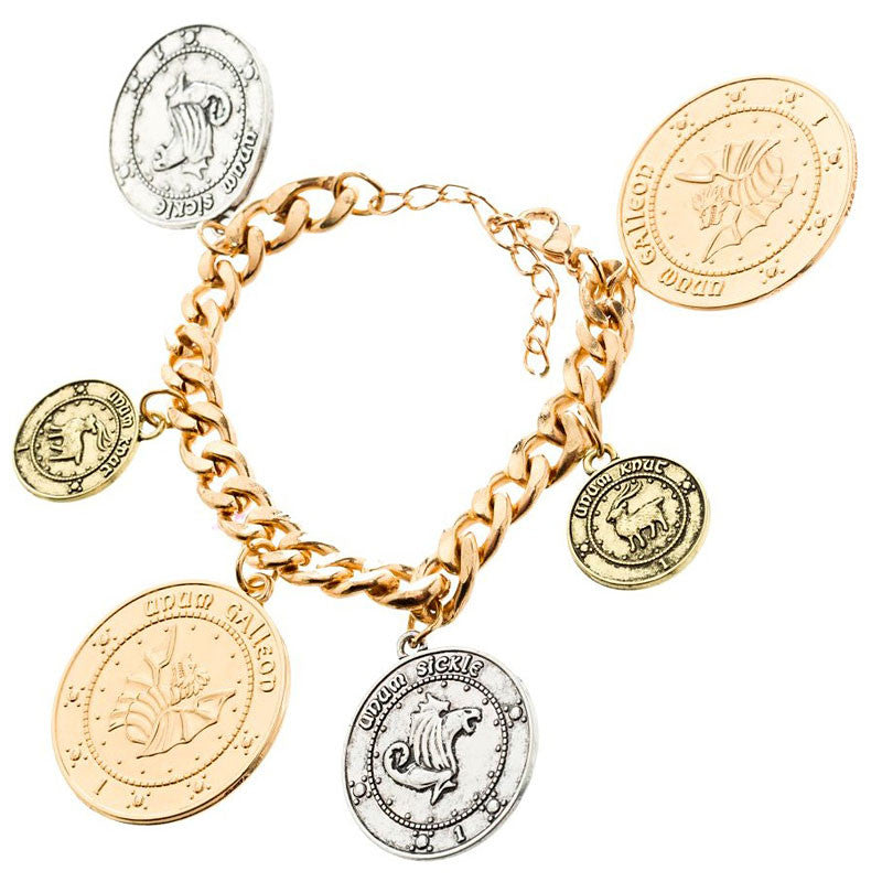 Harry Potter Coin Bracelet